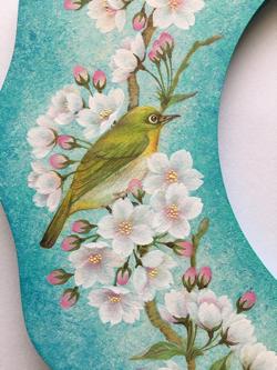 桜とメジロのリース 左.jpg